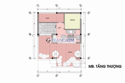 tang-3-Copy Kiến trúc biệt thự 3 tầng – Anh Hiếu