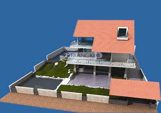 4. Thiết kế biệt thự vườn 1