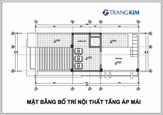 Chi tiết mặt bằng thiết kế kiến trúckhách sạn mini tại Cao Bằng 11