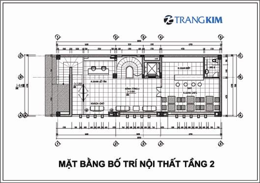 Chi tiết mặt bằng thiết kế kiến trúckhách sạn mini tại Cao Bằng 3