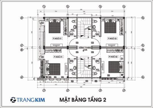mb2-Copy Kiến trúc 2 nhà ống ghép một 3,5 tầng - Anh Cương