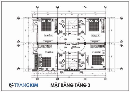 mb3-Copy Kiến trúc 2 nhà ống ghép một 3,5 tầng - Anh Cương