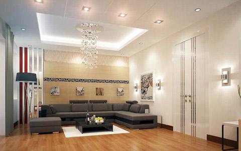 tao-diem-nhan-tren-tuong-phong-khach22 Trang trí phòng khách bằng cách tạo điểm nhấn trên tường