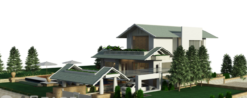 Những mẫu thiết kế nóc nhà đẹp - Archi