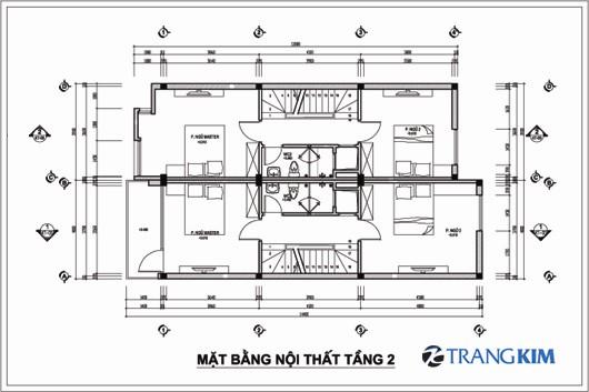 2-Copy5 Kiến trúc 2 nhà ống ghép 3 tầng - Chú Hoàn