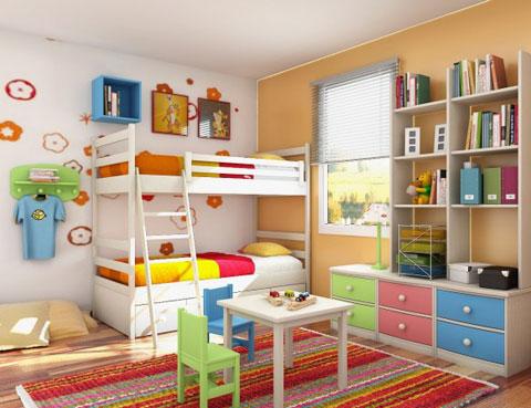 noi-that-phong-tre-11 Chọn đồ nội thất cho phòng trẻ