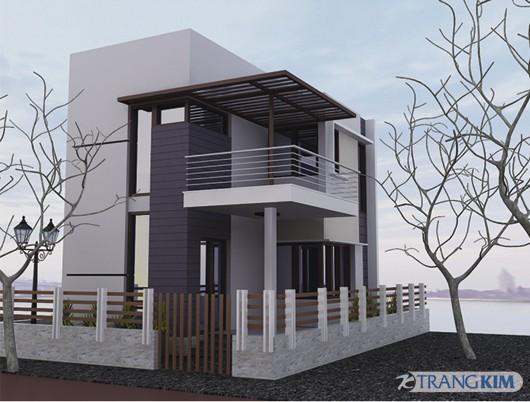 phoi-canh-Copy Tư vấn thiết kế kiến trúc nhà 2 tầng mái bằng 7.5x9.5 m