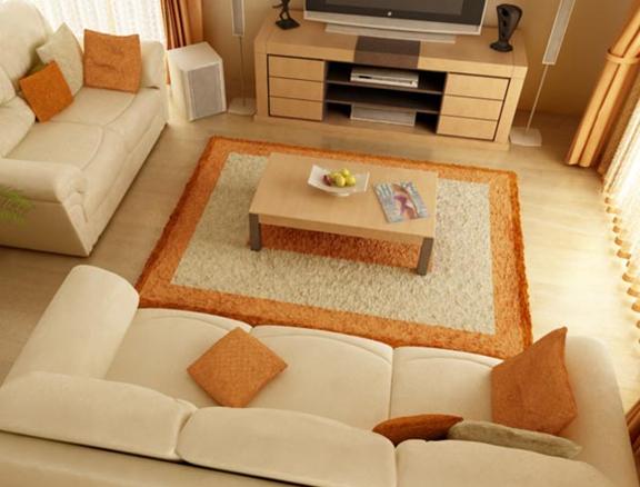 5 27 Nguyên tắc trang trí cho nội thất phòng khách