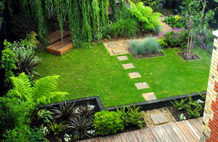 khong-gian-san-vuon-3 Tạo cảnh quan cho sân vườn nhà bạn