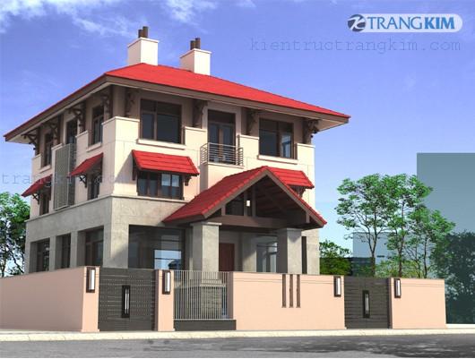 nhung-mau-biet-thu-dep-1 Những mẫu biệt thự đẹp của công ty Kiến trúc Trang Kim
