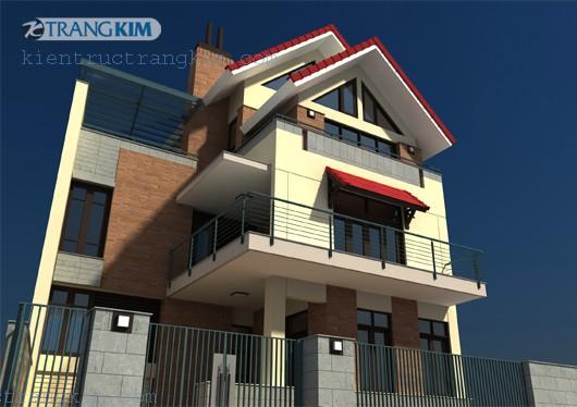 nhung-mau-biet-thu-dep-4 Những mẫu biệt thự đẹp của công ty Kiến trúc Trang Kim