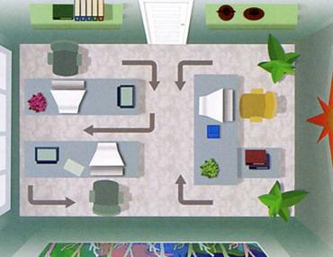 phong-thuy-van-phong-3 Tích hợp nguồn năng lượng đem lại tài lộc cho văn phòng