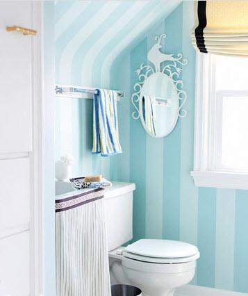 sac-mau-tuoi-tan-cho-phong-tam-mua-he-5 Sắc màu tươi mát cho phòng tắm mùa hè
