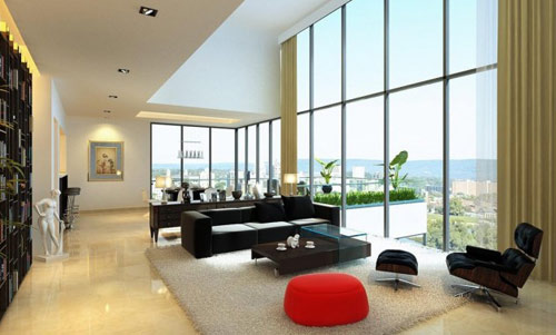 Phong-khach-sang-trong-va-hien-dai-11 Những mẫu phòng khách sang trọng và hiện đại