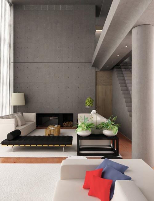 Phong-khach-sang-trong-va-hien-dai-2 Những mẫu phòng khách sang trọng và hiện đại