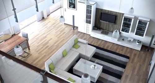 Phong-khach-sang-trong-va-hien-dai-3 Những mẫu phòng khách sang trọng và hiện đại