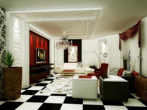 Phong-khach-sang-trong-va-hien-dai-6 Những mẫu phòng khách sang trọng và hiện đại