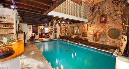 anh21 Sang trọng với bể bơi trong phòng khách