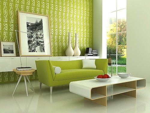 phong-khach-mau-sac-nghe-thuat-1 Phòng khách - không gian nghệ thuật với những sắc màu