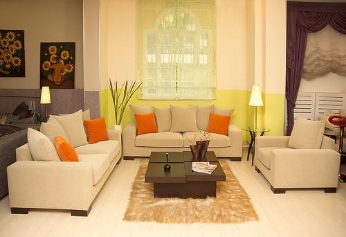 phong-khach-mau-sac-nghe-thuat-2 Phòng khách - không gian nghệ thuật với những sắc màu