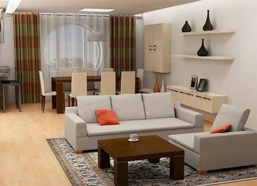 phong-khach-mau-sac-nghe-thuat-4 Phòng khách - không gian nghệ thuật với những sắc màu