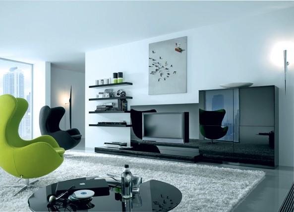 phong-khach-mau-sac-nghe-thuat-5 Phòng khách - không gian nghệ thuật với những sắc màu