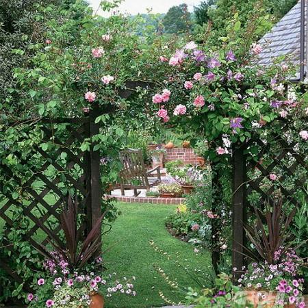 05 DOOL110805ThangMB04 Những chiếc cổng lãng mạn cho nhà vườn