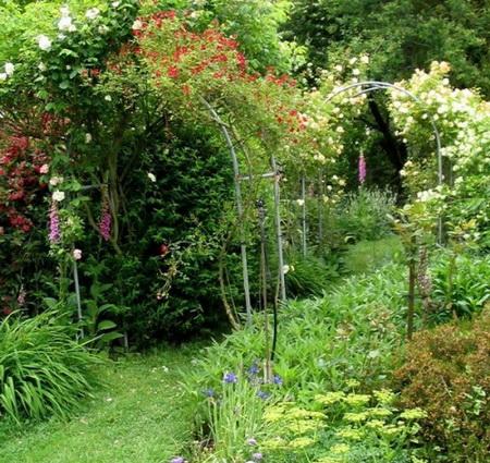 05 DOOL110805ThangMB06 Những chiếc cổng lãng mạn cho nhà vườn