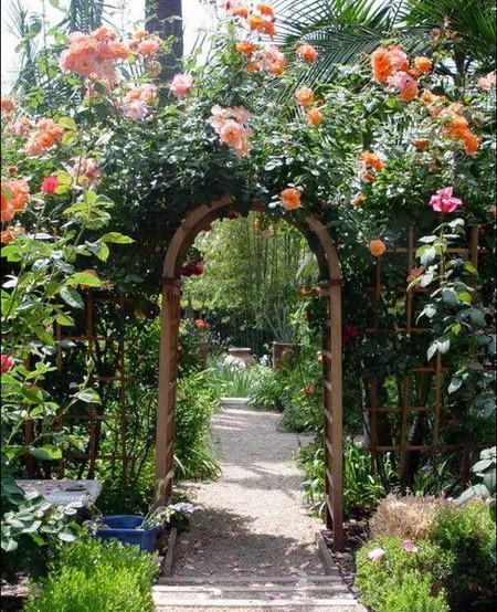 05 DOOL110805ThangMB12 Những chiếc cổng lãng mạn cho nhà vườn