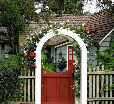 05 DOOL110805ThangMB13 Những chiếc cổng lãng mạn cho nhà vườn