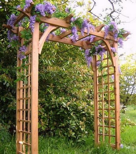 05 DOOL110805ThangMB14 Những chiếc cổng lãng mạn cho nhà vườn