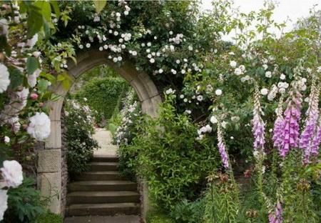 05 DOOL110805ThangMB16 Những chiếc cổng lãng mạn cho nhà vườn