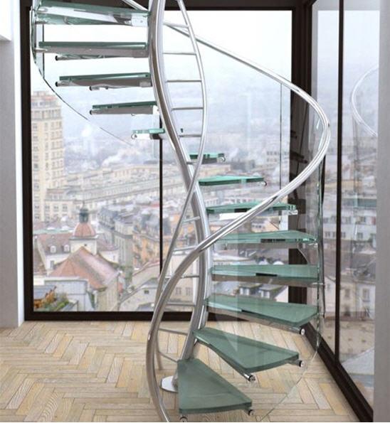 Những mẫu cầu thang đẹp lung linh - Archi