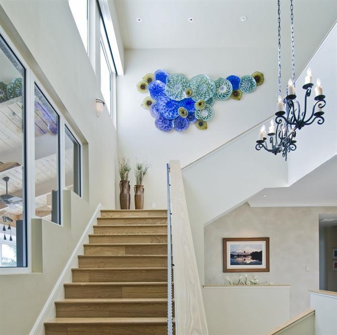 Staircase Decorating Ideas With Modern Design: Những Mẫu Thiết Kế Cầu Thang Tuyệt đẹp