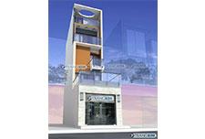 Thiết kế Kiến trúc nhà ống 4.5 tầng – Chú Sơn