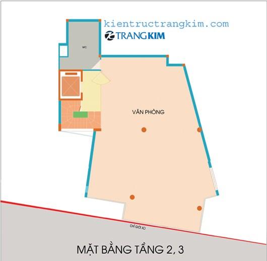 tang-23 Kiến trúc văn phòng 5 tầng hiện đại