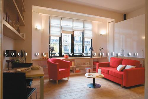 Trang trí căn hộ hai phòng xinh xắn dù chỉ 36m2 | ảnh 1