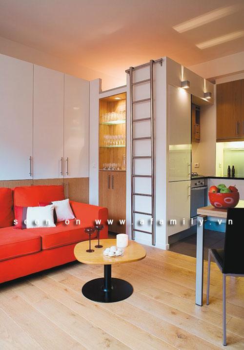 Trang trí căn hộ hai phòng xinh xắn dù chỉ 36m2 | ảnh 2