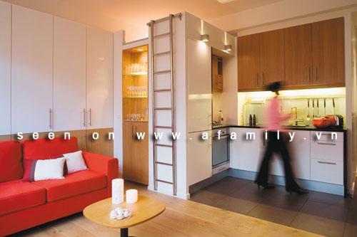 Trang trí căn hộ hai phòng xinh xắn dù chỉ 36m2 | ảnh 3