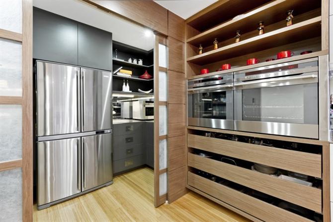 can-bep-hoan-hao-voi-phong-cach-nhat11 Căn bếp hiện đại với sự kết hợp Đông Tây