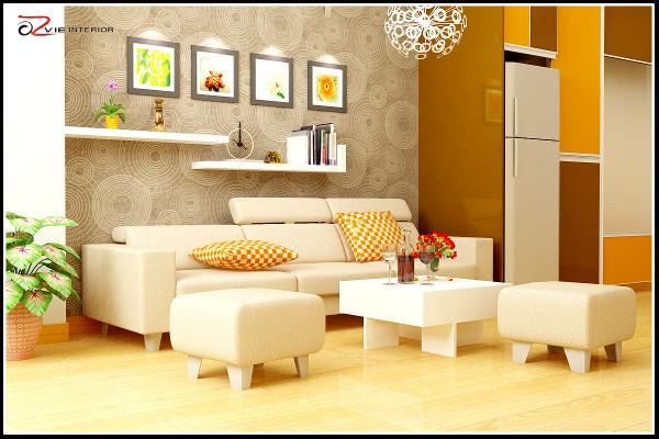su-dung-ke-trang-tri-6 Sử dụng kệ treo tường ấn tượng trong nhà