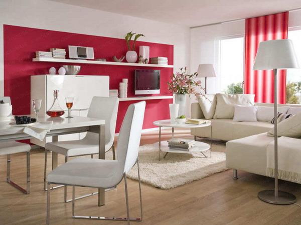 phan-chia-phong-khach-phong-an-24m2-6 Bài trí hợp lý cho phòng khách và phòng ăn 24m2