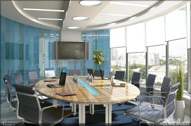 8303449802 Thiết kế nội thất phòng họp