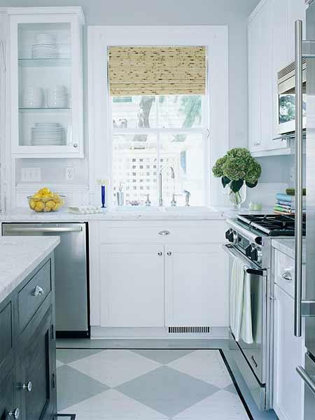 Bí quyết làm rộng căn bếp