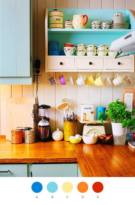 Как украсить стену на кухне своими руками с фото