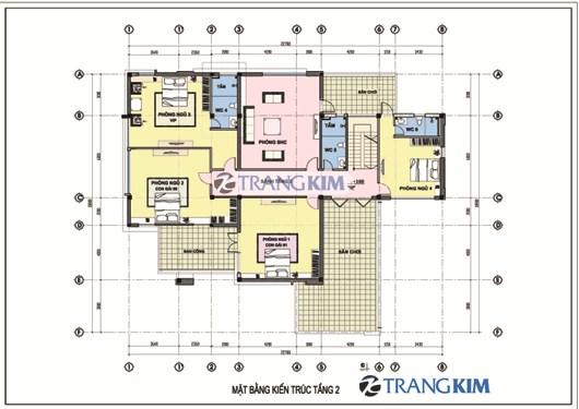 MAT-BANG-KIEN-TRUC-TANG-2-Original-Resolution Tư vấn thiết kế biệt thự 280m2