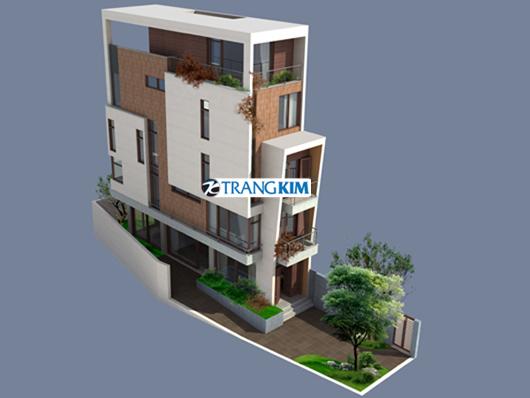 3jpg Thiết kế nhà phố 3,5x16m2