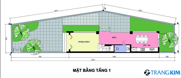 43 Thiết kế nhà phố 3,5x16m2