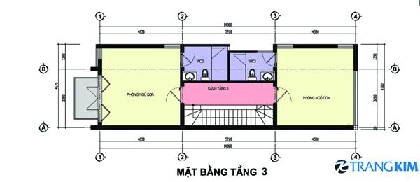 63 Thiết kế nhà phố 3,5x16m2