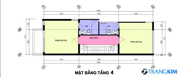 73 Thiết kế nhà phố 3,5x16m2